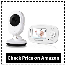 Video Baby Monitor with HD Camera Infrared Night Vision Two-way Communication Review