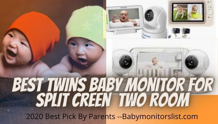 best twin split screen baby monitor